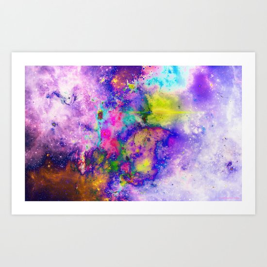 Everything is nothing 13 (therefore it was beautiful) Art Print