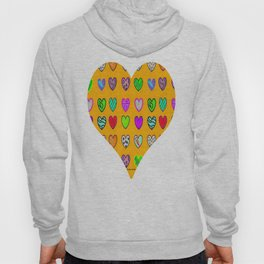 A heart for Britto by Nico Bielow Hoody