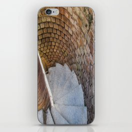 A Downward Spiral in Time iPhone Skin
