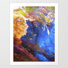 Labradorith Art Print