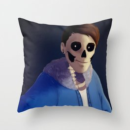 Danisnotonfire as Sans Throw Pillow