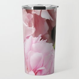 Peony in Summer Travel Mug