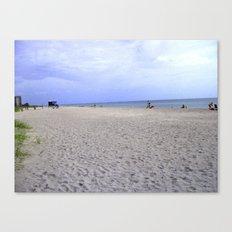Fun On The Beach Canvas Print