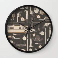 The Walking Dead Wall Clock