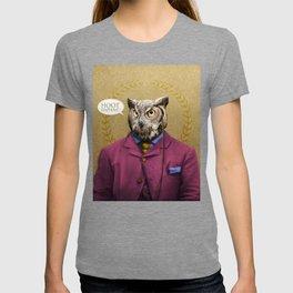 "Mr. Owl says: ""HOOT Happens!"" T-shirt"