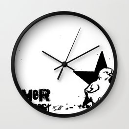 Mother Knows...  Wall Clock