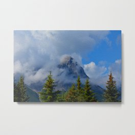 Ha Ling Mountain Peak, Canmore, Canada Metal Print