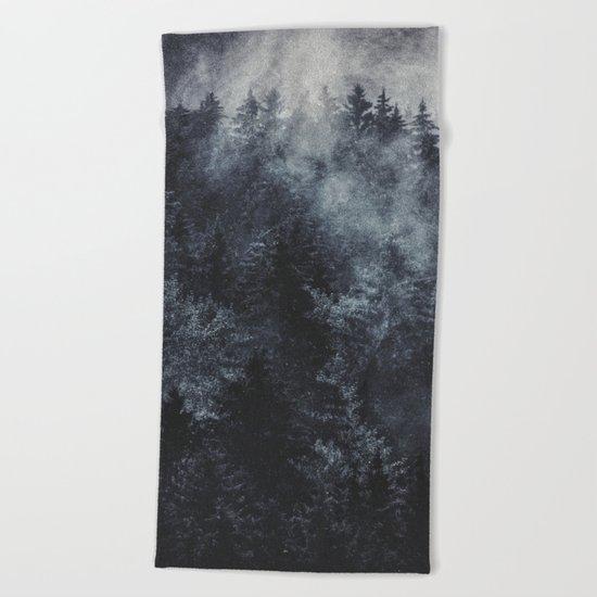 Hard Boiled Wonderland Beach Towel