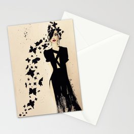 The Black Beautiful Stationery Cards