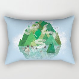 Mysterious Island Rectangular Pillow