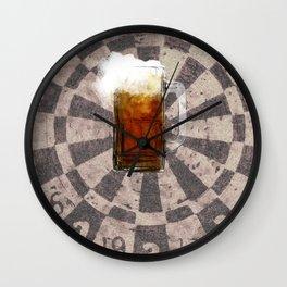 Man Cave Beer Mug Wall Clock