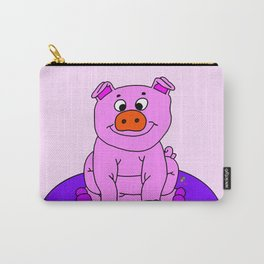 Wide-eyed Piggy Carry-All Pouch