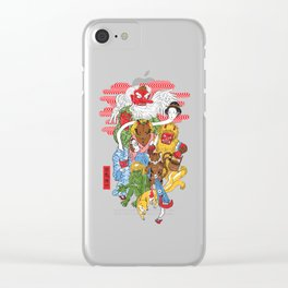 Monster Parade Clear iPhone Case