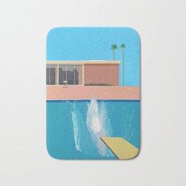 David Hockney A Bigger Splash Print Bath Mat