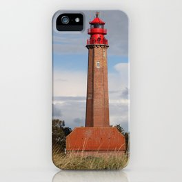 Lighthouse Flügge iPhone Case