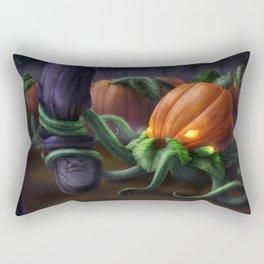 Pumpkin Octopus Rectangular Pillow