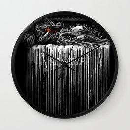 Bleeding 51 Wall Clock