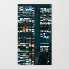 Container Blocks Canvas Print