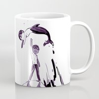iwatobi Mugs featuring Free Haru by Blue