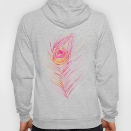 Peacock Feather – Peachy Pink Palette Hoody