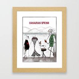 Canadian Spring Framed Art Print