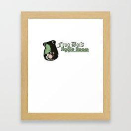 Frog Boi's Jiggle Room Framed Art Print