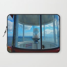 Lighthouse and Sea Beyond, seen from the Balcony Laptop Sleeve
