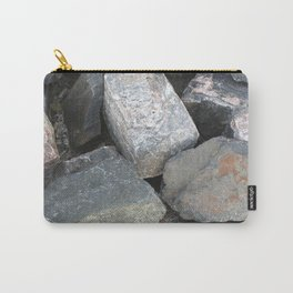 Texture #11 Stone Carry-All Pouch