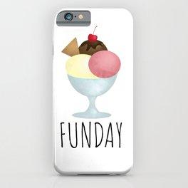 Sundae Funday iPhone Case
