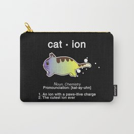 Biology Anime Cat Ion Kitty Kitten Chemistry Gift Carry-All Pouch