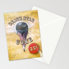 death star cone 25cents Stationery Cards