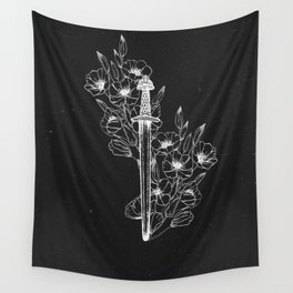 Warrior Spirit Wall Tapestry