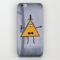 bill cipher iPhone & iPod Skins featuring Bill Cipher by Ryn-the-Obsessed