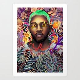 Frank Ocean Art Print