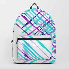 Improvised Geometry Nr. 2, Abstract Backpack