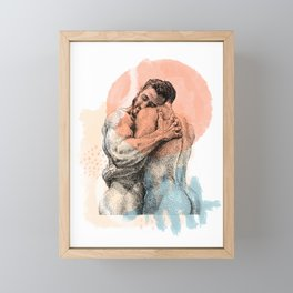 The Lovers - NOODDOOD Remix Framed Mini Art Print