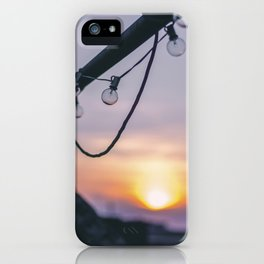 Rooftop Sunset iPhone Case