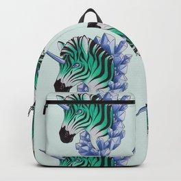 Aqua Zebracorn Backpack