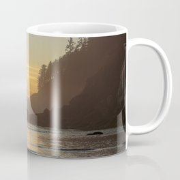 Last Light at Short Sand Beach, Oregon Coffee Mug