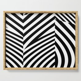 stripes wave. wow. 1c Serving Tray