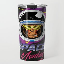 Space Monkey 1980s Travel Mug