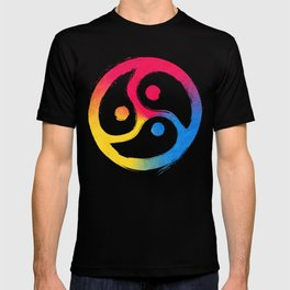 BDSM Triskelion Pansexual Pride T-shirt