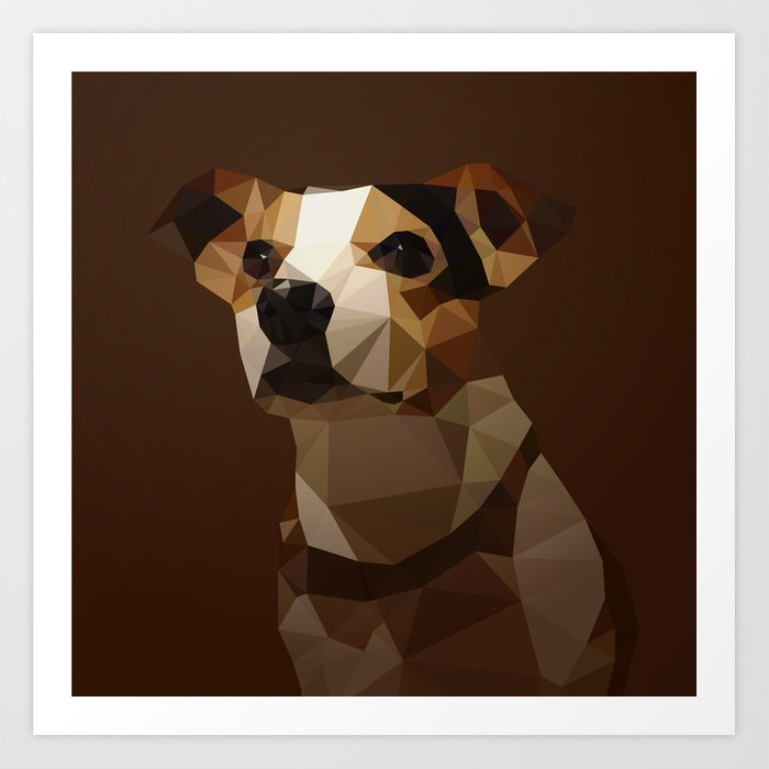 Bucci the Dog Art Print