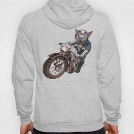Cat Racer Hoody
