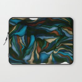 blue smudge Laptop Sleeve