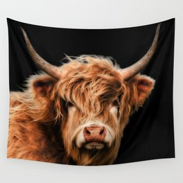 Highland Cow Wall Tapestry