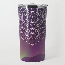 Flower Of Life 2 Travel Mug