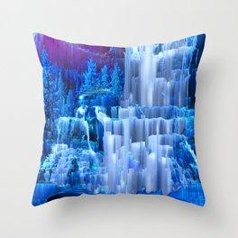 Forest Falls Throw Pillow