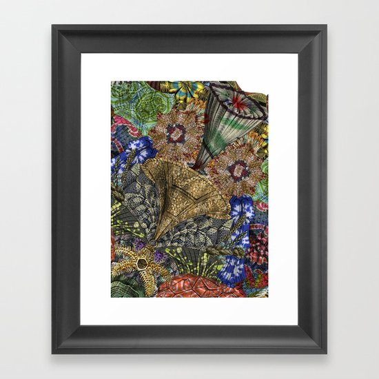 Psychedelic Botanical 4 Framed Art Print