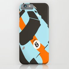 Orange Notch - Ford GT40 Race Car iPhone 6s Slim Case